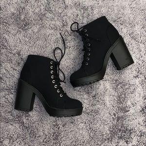 👠3 / $130👠 Heeled Combat Boots